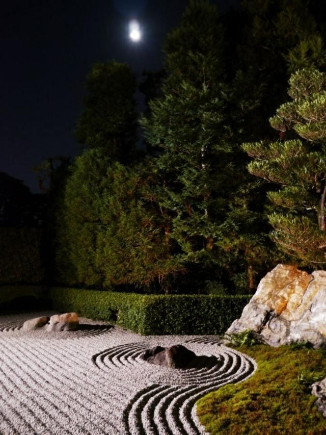 deseño jardín meditacion zen tranquilidad