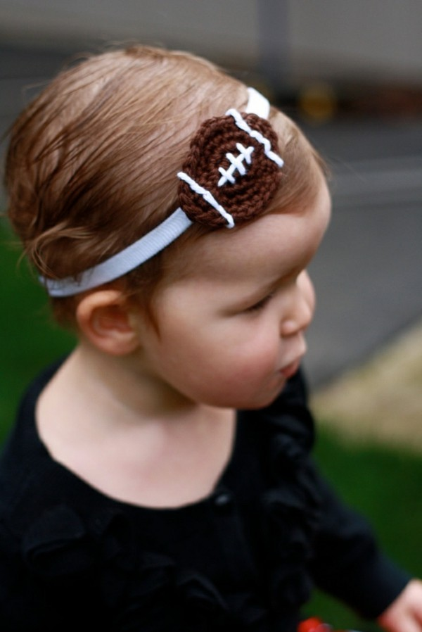diademas bebe balon futbol americano