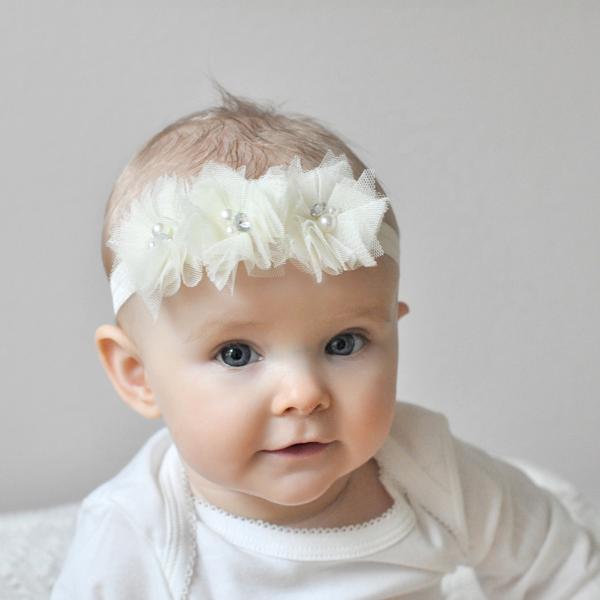 diadema blanca flores centro link