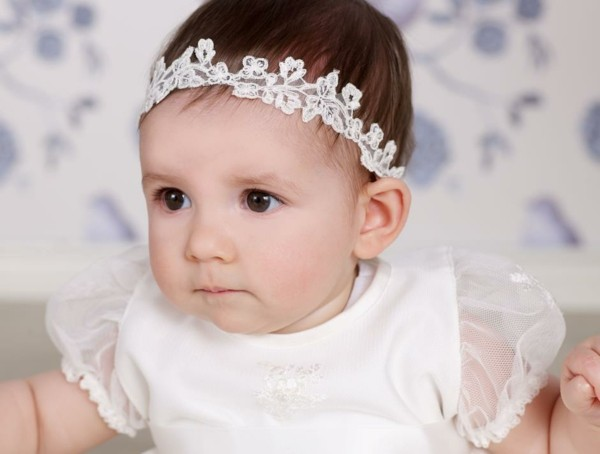 Diademas para beb s para las princesitas de casa - Diademas de encaje ...