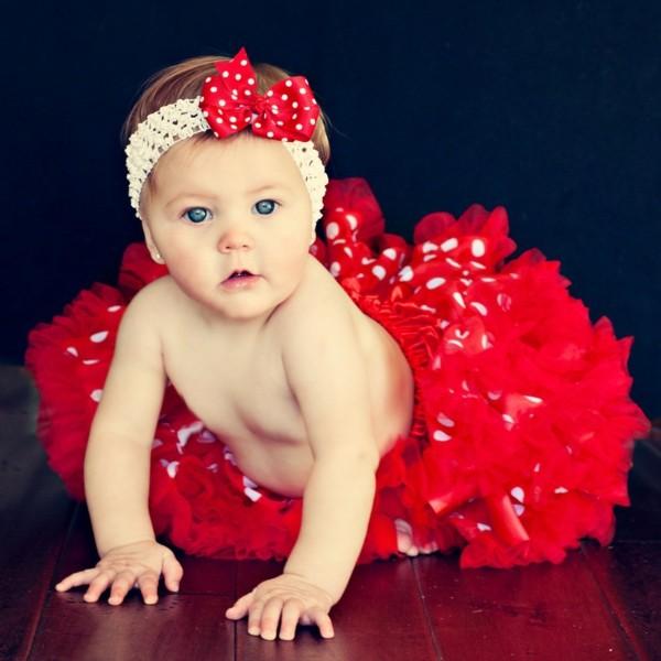 diadema flamenca roja lunares lazo