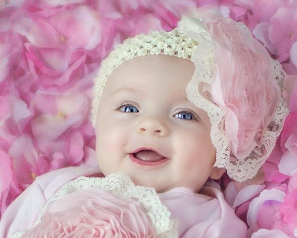 diadema grande rosa blanco flor