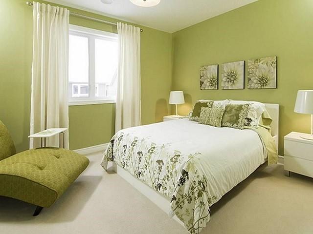 diseño de interiores con colores cálidos diseño muebles habitacion