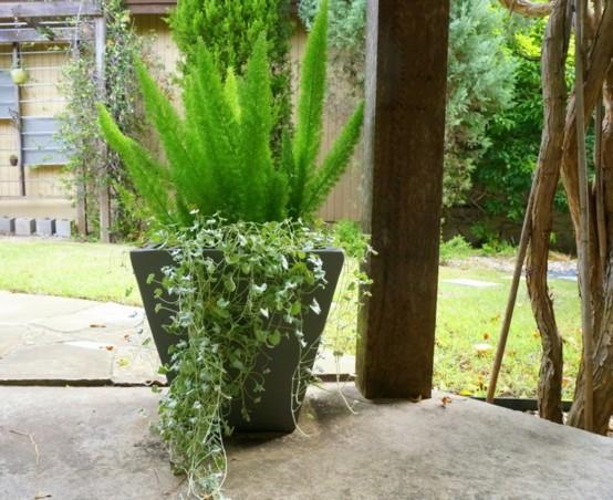 Dise o de jardines modernos arriesgados nicos - Diseno de jardines modernos ...