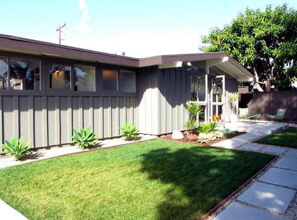 diseño de jardines muebles terraza exterior