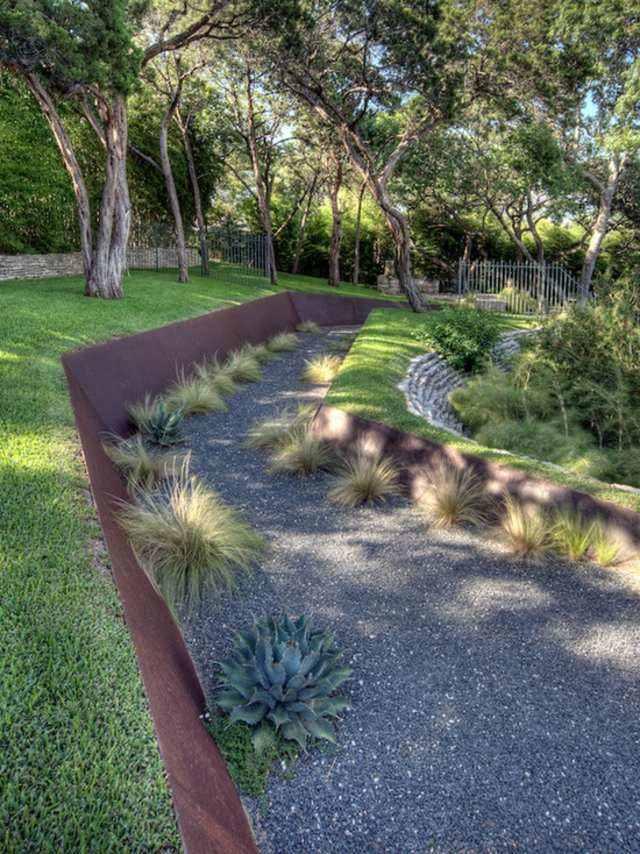 diseño de jardines xeriscape cesped hierbas