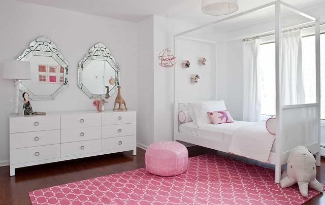 diseno habitacion chica estilo femenino opciones