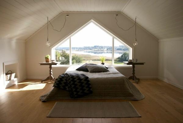 dormitorio bonito suelo parquet madera
