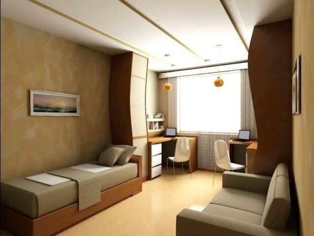 dormitorio estilo sutil sobrio colores largo