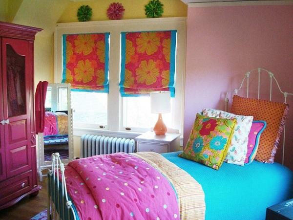dormitorio jovens estrecho motivos tropicales