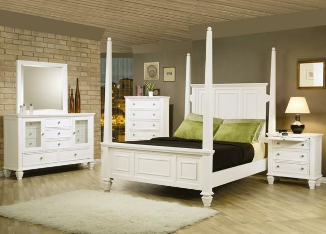 dormitorios matrimonio estilo vintage muebles camas