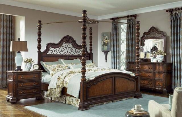 Matrimonio Bed : Dormitorios matrimonio con camas dosel