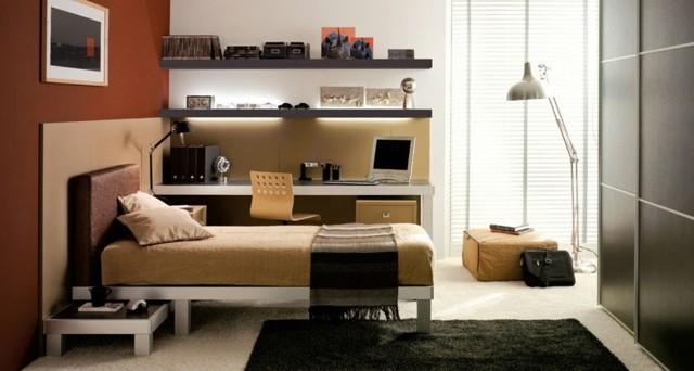 Dormitorios modernos para adolescentes atrevidos y nicos - Lampara para dormitorio moderno ...