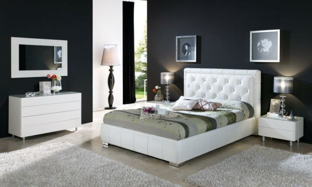dormitorios únicos lampara mobiliario alfombras