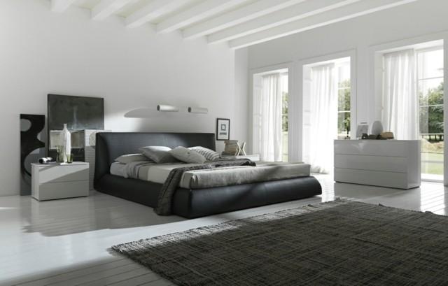 dormitorios únicos alfombra iluminacion muebles