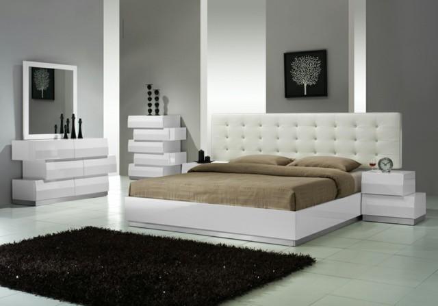 dormitorios únicos muebles diseño moderno