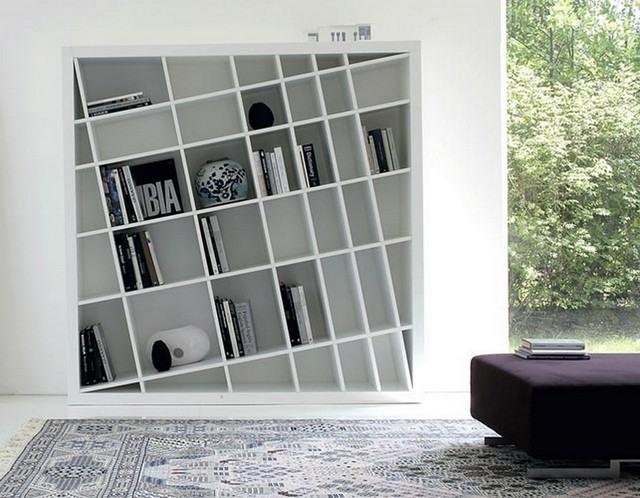 elegante unico blanco moderno diseño libros