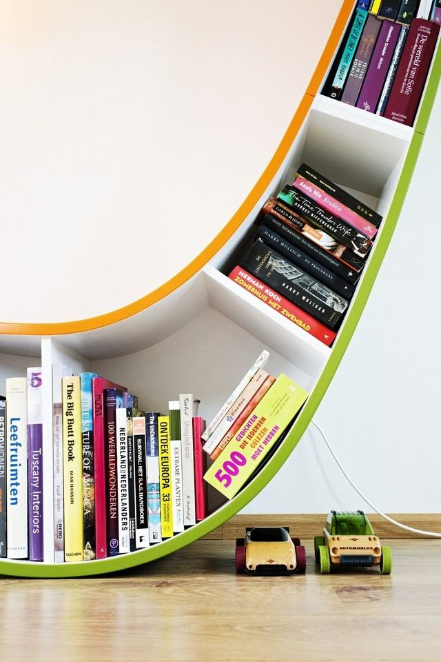 Estanterias para libros: ideas originales
