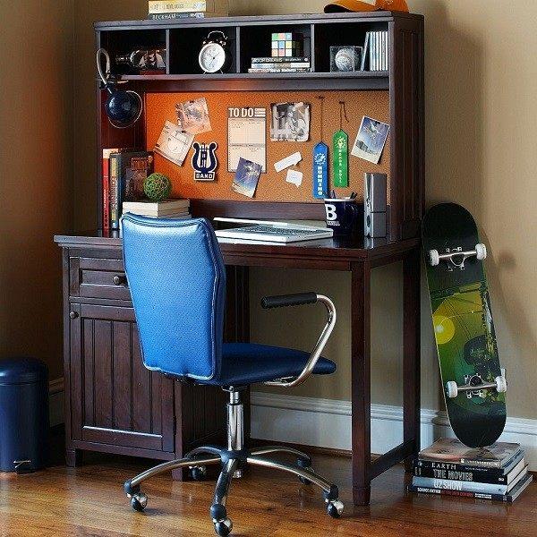 escritorio silla muebles juveniles chico
