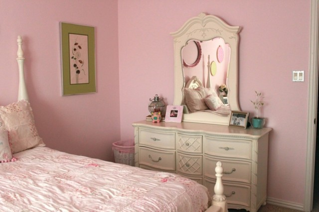 Shabby chic ideas rom ticas para tu dormitorio - Ideas decoracion paredes dormitorios ...