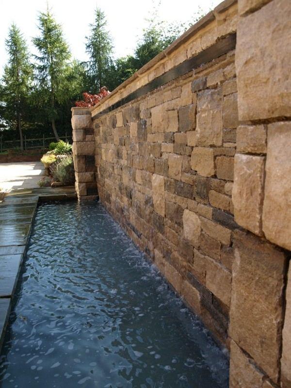 estanque lago piscina moderna pared