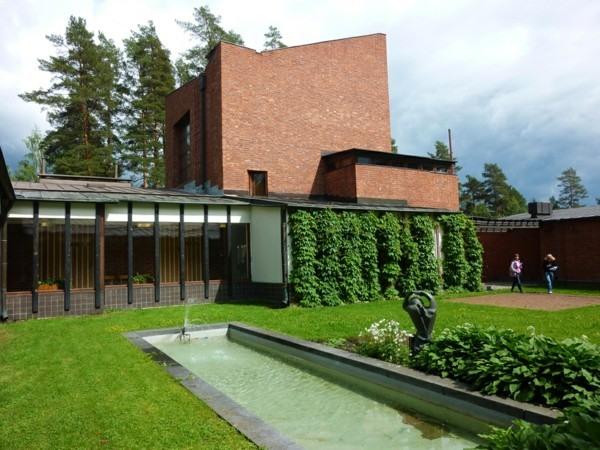 estanque piscina lago patio rectangular
