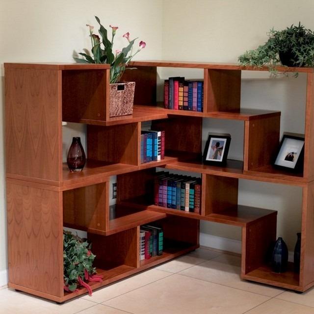 Estanterias para libros ideas originales - Estanterias modulares de madera ...