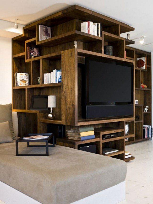 Estanterias para libros ideas originales - Muebles estanterias de madera ...