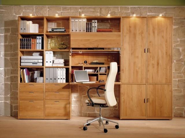 Estanterias para libros ideas originales for Study room wall cabinets