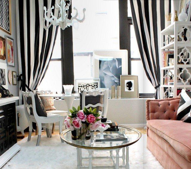 estilo fabuloso salon color blanco negro idea genial