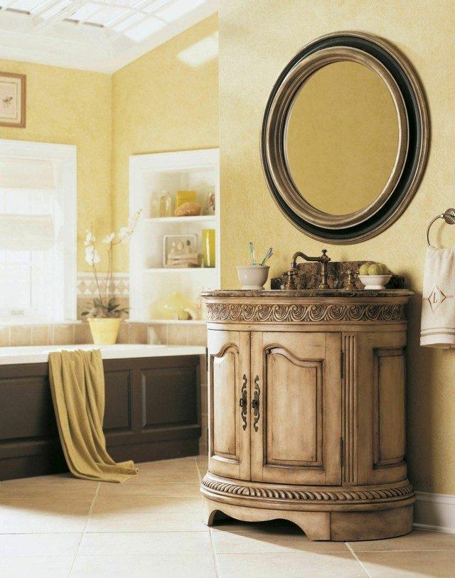 estilo mediterraneo moderno baño lavabo bonito interesante