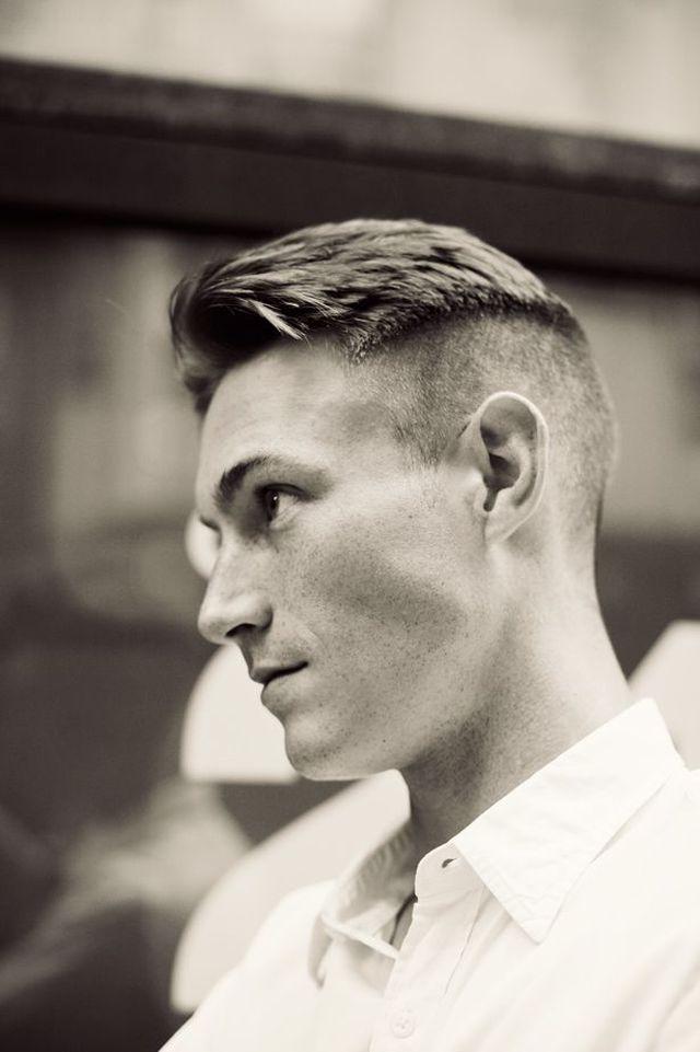 estilo militar peinado masculino original moderno