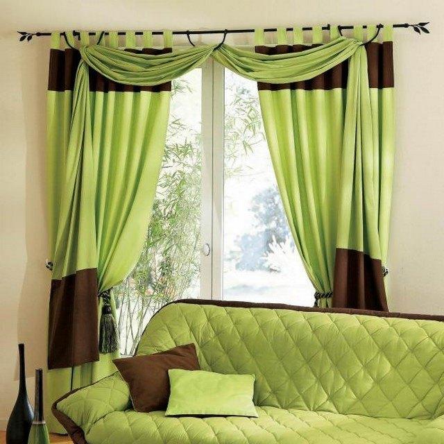 Cortinas para sal n crea un ambiente ameno en tu hogar - Hauteur d un rideau par rapport au sol ...