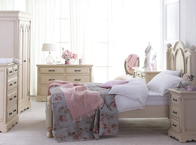 Shabby chic ideas rom ticas para tu dormitorio - Muebles estilo romantico ...