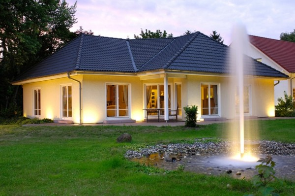 estupenda casa jardín heisser artificial