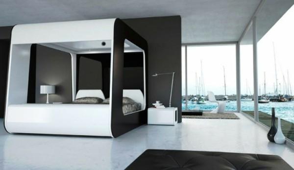 estupenda habitación lujosa vistas puerto