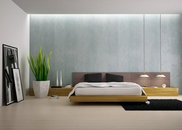estupenda habitación moderna minimalista