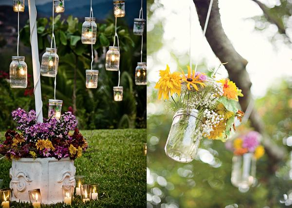 Manualidades originales ideas diy para tu hogar for Luces colgantes para jardin