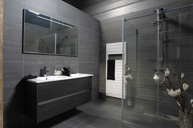 Iluminacion Baño Oscuro:Azulejos para baños modernos, 50 ideas increíbles