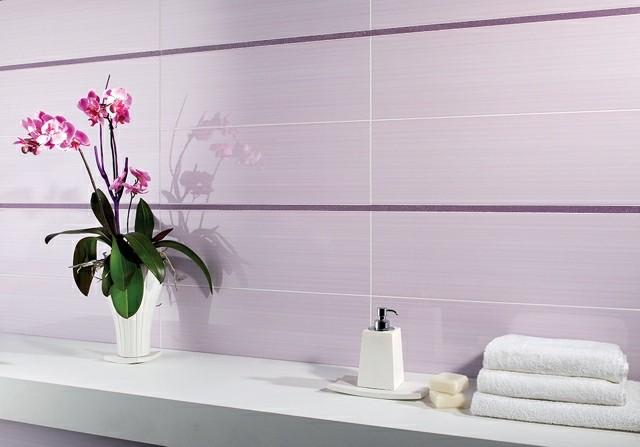 flores moderno azulejos baño lineas