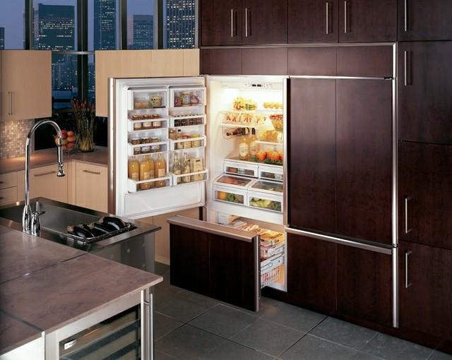 frigorficos integrables imitacion madera