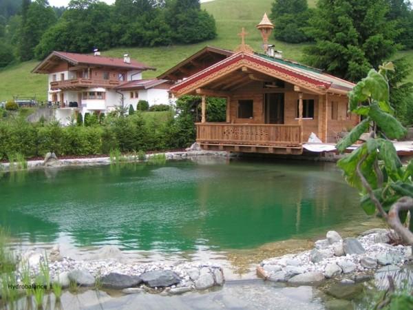 Lagos y piscinas naturales para el jard n for Cabine del lago casitas