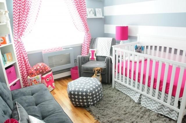 Habitaciones de bebe 26 ideas que te conquistaran - Habitacion de bebe nina ...