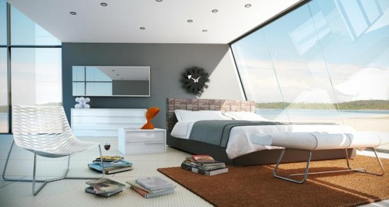 habitación blanca cuarto vistas playa