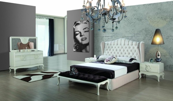 habitación decoración merilyn monroe póster