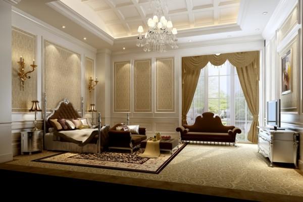 habitación real super lujo beige