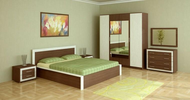Decoraci n dormitorios 80 ideas que le dejar n sin aliento - Dormitorio verde ...