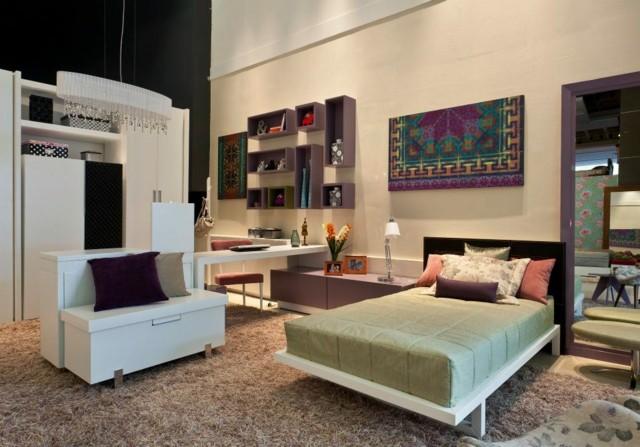 Habitaciones juveniles para chicas adolescentes - Camas grandes ...