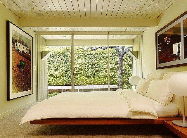 habitacion colores calidos mobiliario madera decoracion