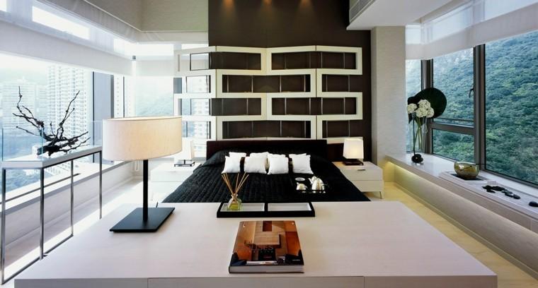 habitacion diseño moderno luz natural